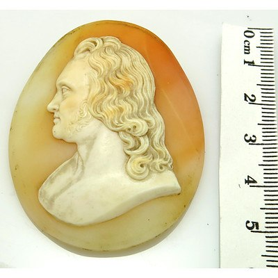 Vintage Shell Cameo - very large