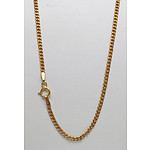 9ct Gold Chain - diamond cut curb links