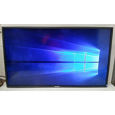 Philips BDL4660EL 46-Inch Full HD (1080p) Edge-Lit LED E-Line Display