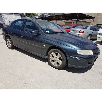 5/2002 Holden Commodore Executive VXII 4d Sedan Blue 3.8L