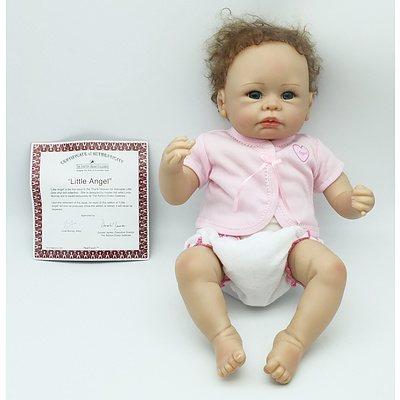 The Ashton-Drake Galleries Little Angel Porcelain Doll