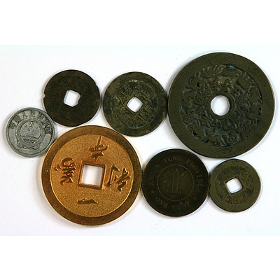 Selection of Chinese Coins & Tokens
