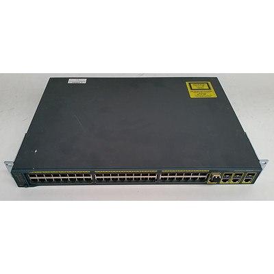 Cisco Catalyst 2960G Series 48-Port Gigabit Managed Switch