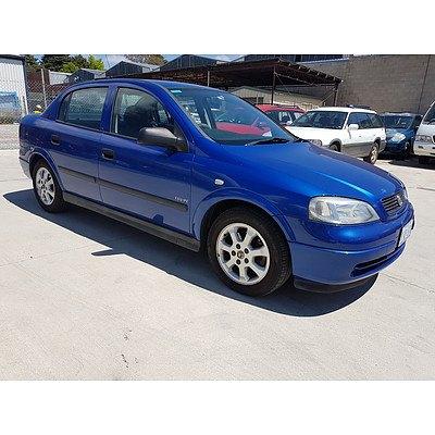 3/2005 Holden Astra CD Classic TS 4d Sedan Blue 1.8L