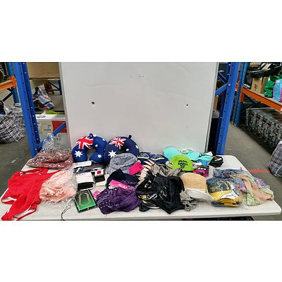 Bulk Lot of Mixed Clothing Accessories