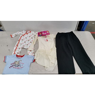 Bulk Lot of Brand New Kid's and Babies' Clothes - RRP $180
