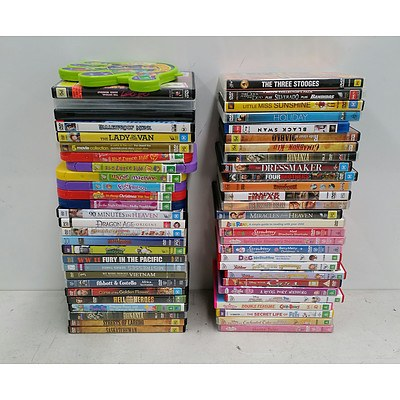 Lot of Approx 60 DVDs