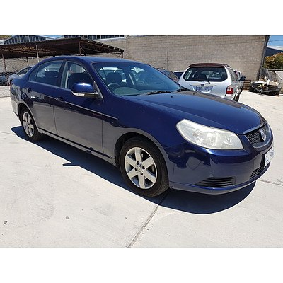 12/2008 Holden Epica CDX EP MY09 4d Sedan Blue 2.0L