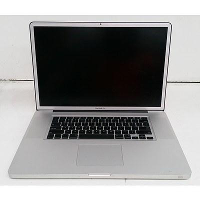 Apple A1297 17-Inch Core 2 Duo (T9600) 2.80GHz MacBook Pro 17 Laptop