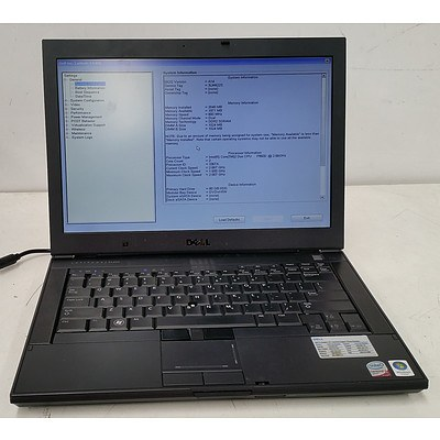 Dell Latitude E6400 14-Inch Core 2 Duo Mobile (P9600) 2.66GHz & (T9800) 2.93GHz Laptops - Lot of Two