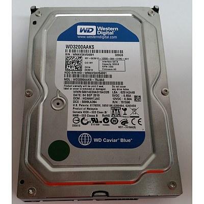 Western Digital WD3200AAKS 320GB 7200rpm SATA Hard Drive - Lot of 29