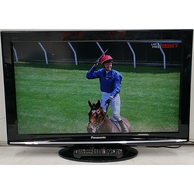 Panasonic TH-L32S10A 32 Inch LCD HD Television and Panasonic DMR-XW380 PVR/DVD Player
