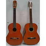 Six String Acoustic Guitars - Lot of Two
