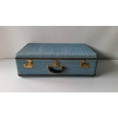 Four Retro Suitcases