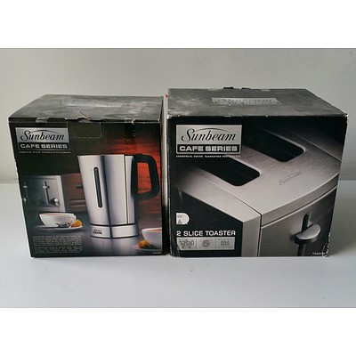 Two Brand New Sunbeam Electrical Kitchen Appliances