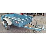 Dean Farm Equipment 7 x 4 Box Trailer