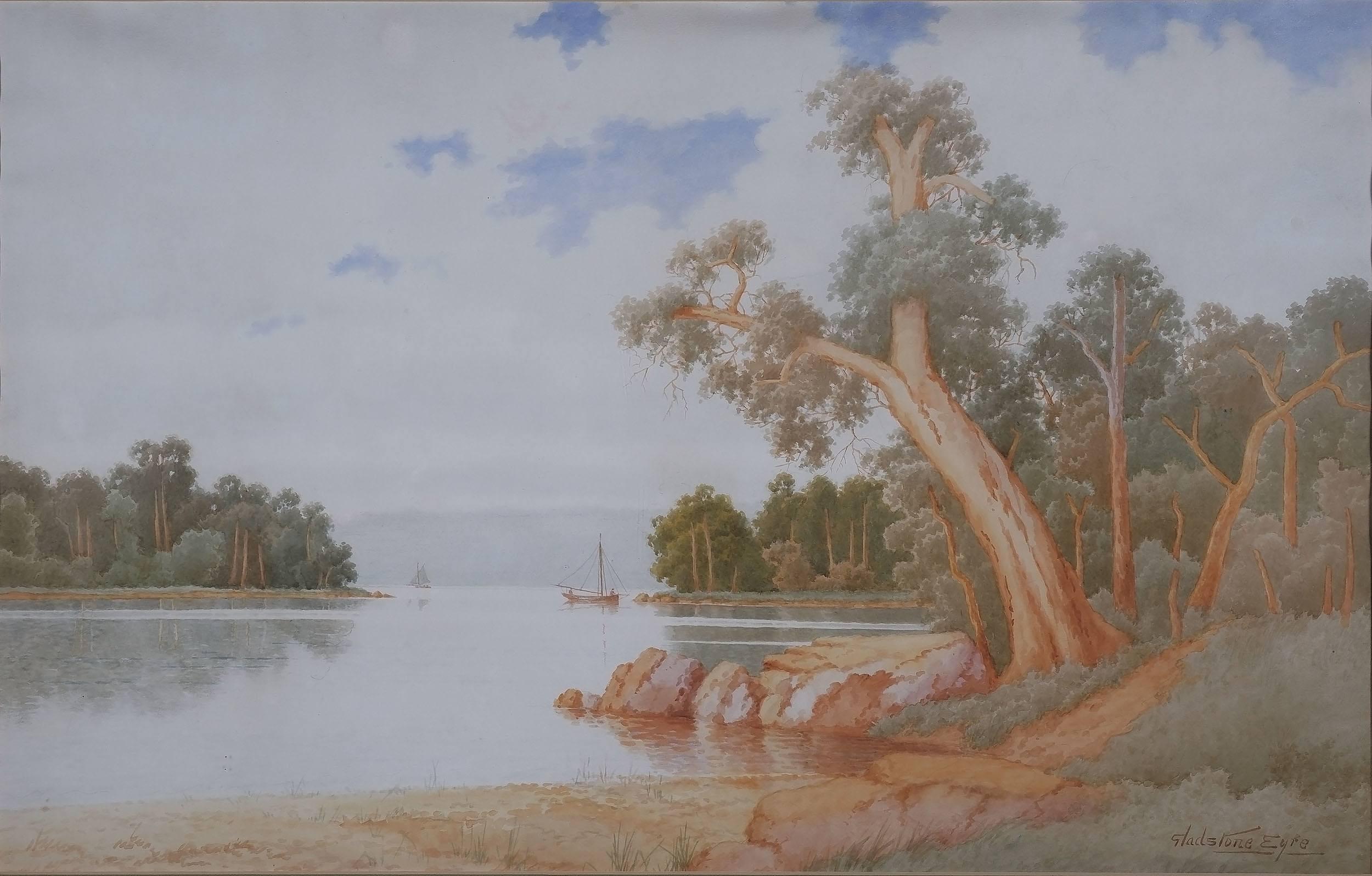 'Gladstone Eyre (1863-1933) Watercolour'