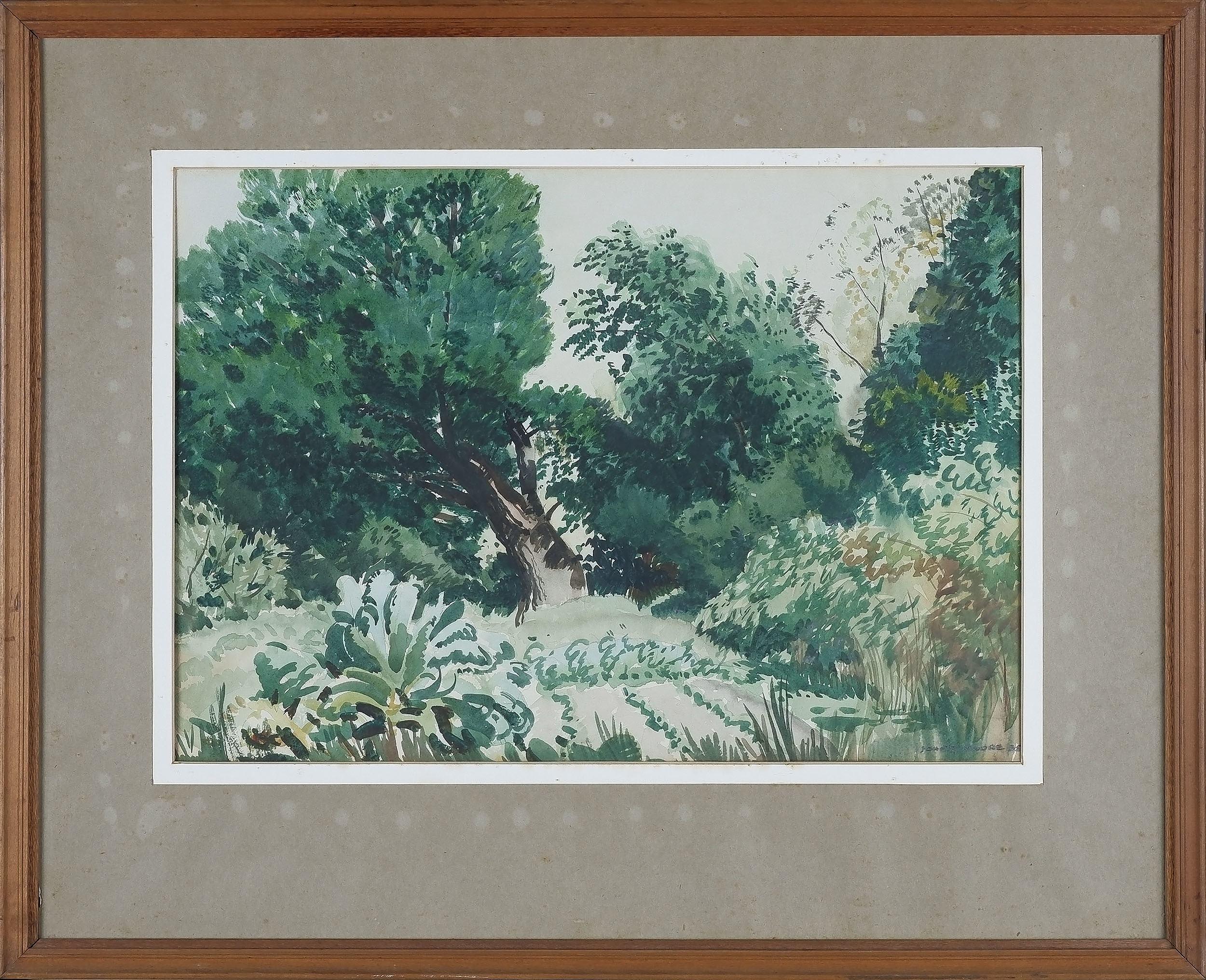 'John Drummond Macpherson Moore (1888-1958) Untitled Landscape 1938'