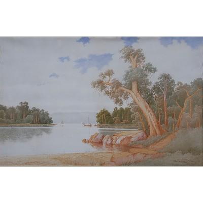 Gladstone Eyre (1863-1933) Watercolour