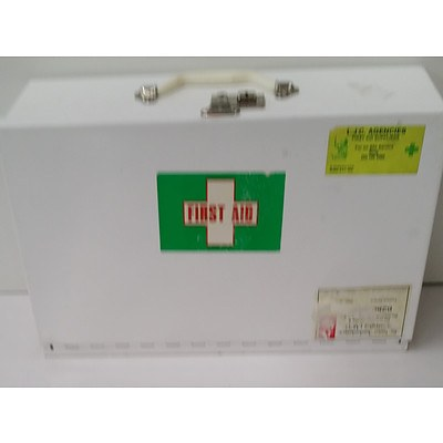 Wall Mount First Aid Box - Box only