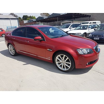 3/2011 Holden Calais V VE II 4d Sedan Red 3.6L