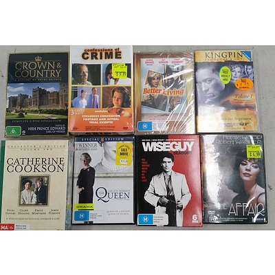 DVDs - Box of 50 plus