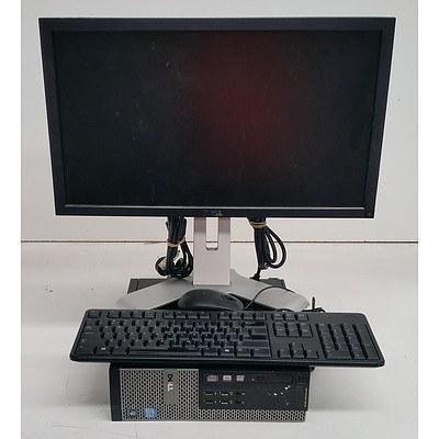Dell OptiPlex 9010 Core i7 (3770) 3.40GHz Computer w/ 21.5-Inch Full HD Monitor
