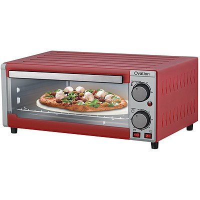 Ovation OV15 Pizza Oven and Grill Red - RRP $129 - Brand New