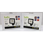 Lot of 2 Brand New Ludo 50W LED Floodlight RRP = $90.00