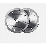 115mm Diamond Blade to suit Dual Saw CS450 by The Renovator Plus Guide Ruler - Lot of 20 of each