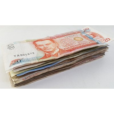 Lot of Foreign Notes