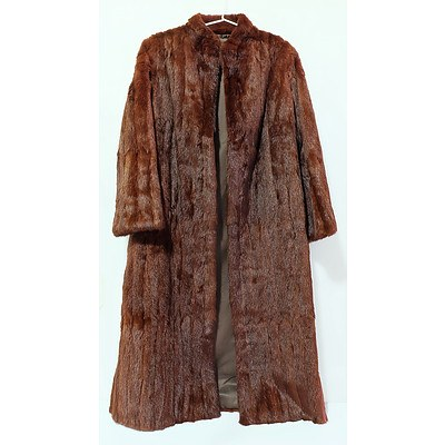 Vintage Solmar Full Length Mink Coat