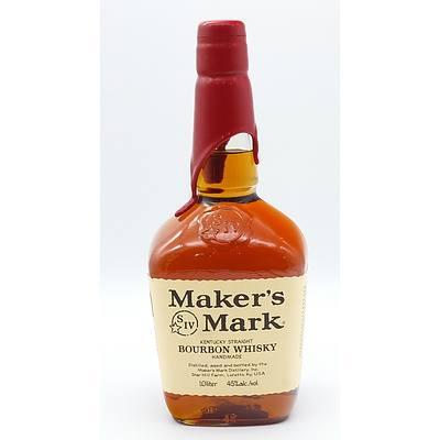 Maker's Mark Kentucky Straight Bourbon Whiskey 1.0 Litre