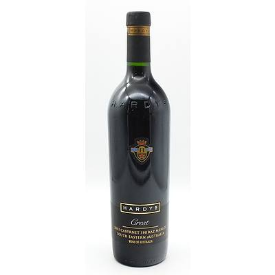 Hardys Crest 2003 Cabernet Shiraz Merlot 750ml