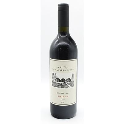 Wynns Coonawaara 1999 Shiraz 750ml