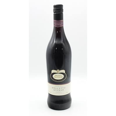 Brown Brothers Vintage 2012 Dolcetto & Syrah 750ml