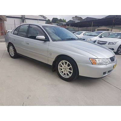 5/2003 Holden Commodore Equipe VY 4d Sedan Silver 3.8L