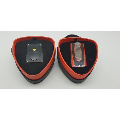 Two Tonino Lamborghini Cigar Lighters