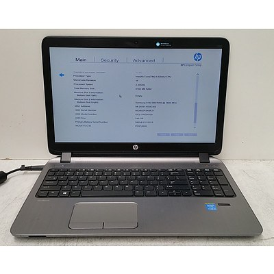 "HP ProBook 450 G2 Core i5 (5200U) 2.20GHz 15.6"" Laptop"