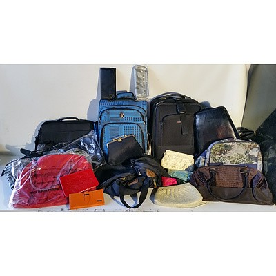 Large Group of Bags, Handbags and Wallets