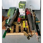 Bulk Lot of Tools, Gardening Equipment and Lights