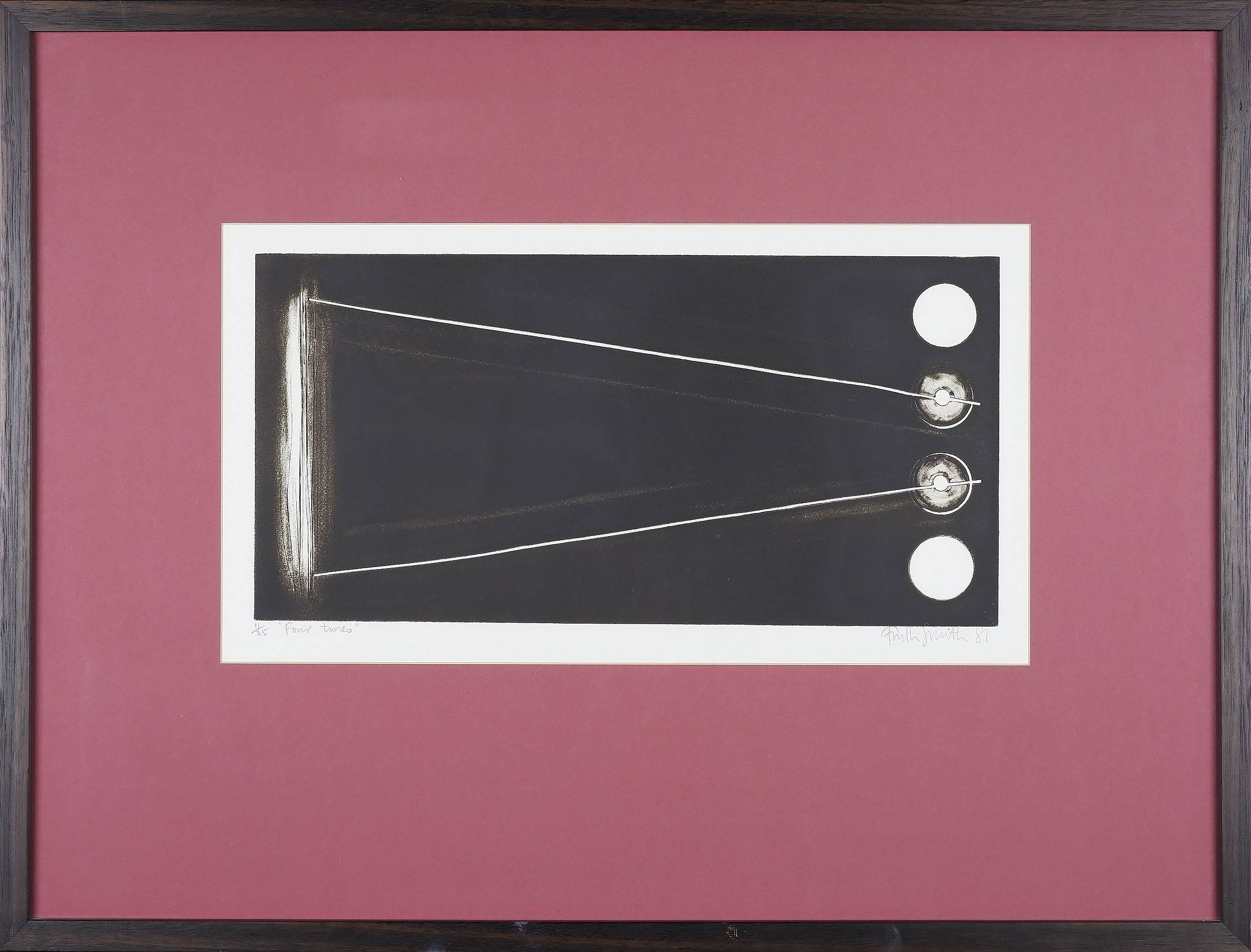 'John Firth-Smith (1943-) Four Tunes 1981 Etching 11/25'