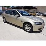 8/2009 Holden Commodore Omega VE MY09.5 4d Sedan Beige 3.6L