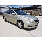 10/2006 Toyota Aurion AT-X GSV40R 4d Sedan Beige 3.5L