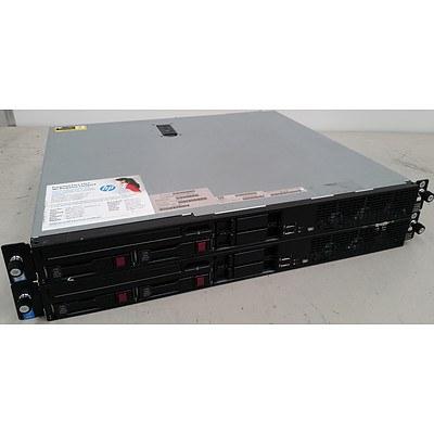 Hp Proliant DL320e Gen8 V2 Quad-Core Xeon E3-1220 v3 3.1GHz 1 RU Servers - Lot of 2