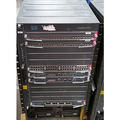 Cisco Catalyst 6500 Series Network Chassis