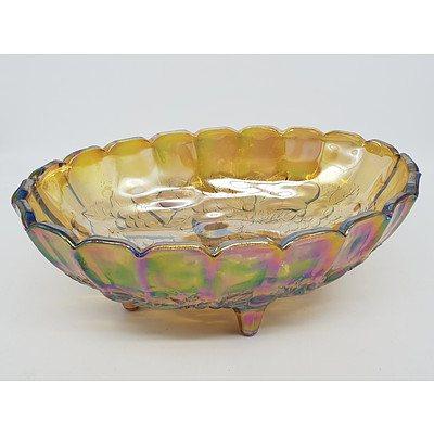 Carnival Glass Fruitbowl