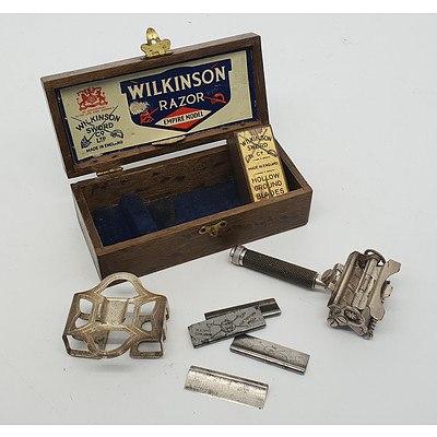 Wilkinson Razor Empire Model with Wood Box