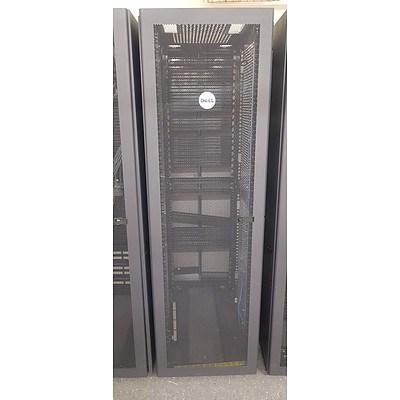 Dell Black Vented Server Rack #6