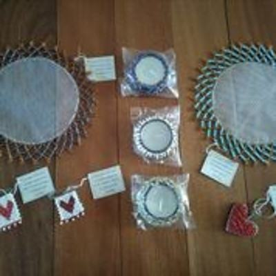 Assorted handmade items from Namibia
